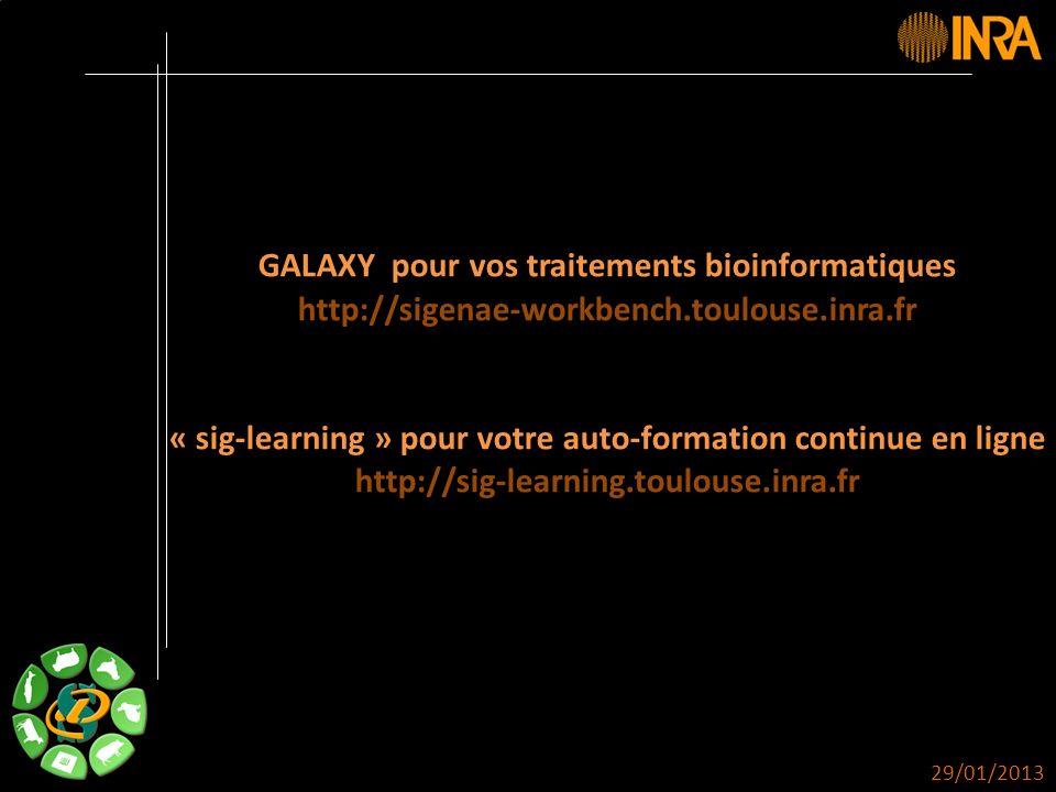 -- 3 -- DOKEOS Vos traitements bioinformatiques avec GALAXY