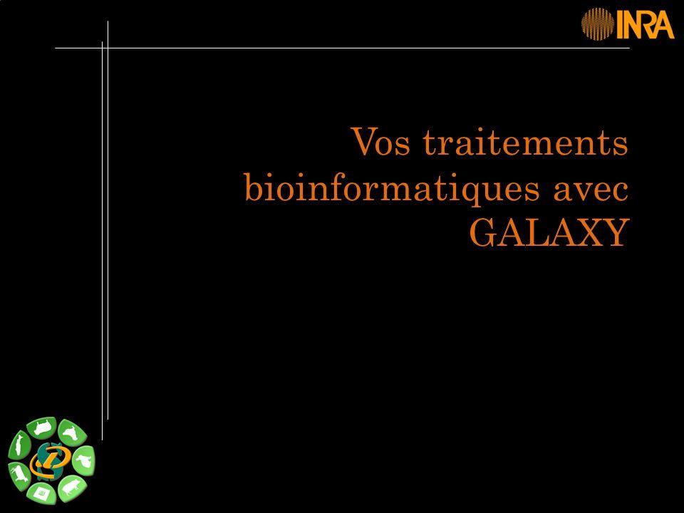 -- 4 -- Plateforme Vos données Historique Workflow Bioinfo Présentation de la plateforme Galaxy.