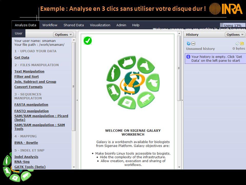 -- 10 -- Exemple : Analyse en 3 clics sans utiliser votre disque dur !