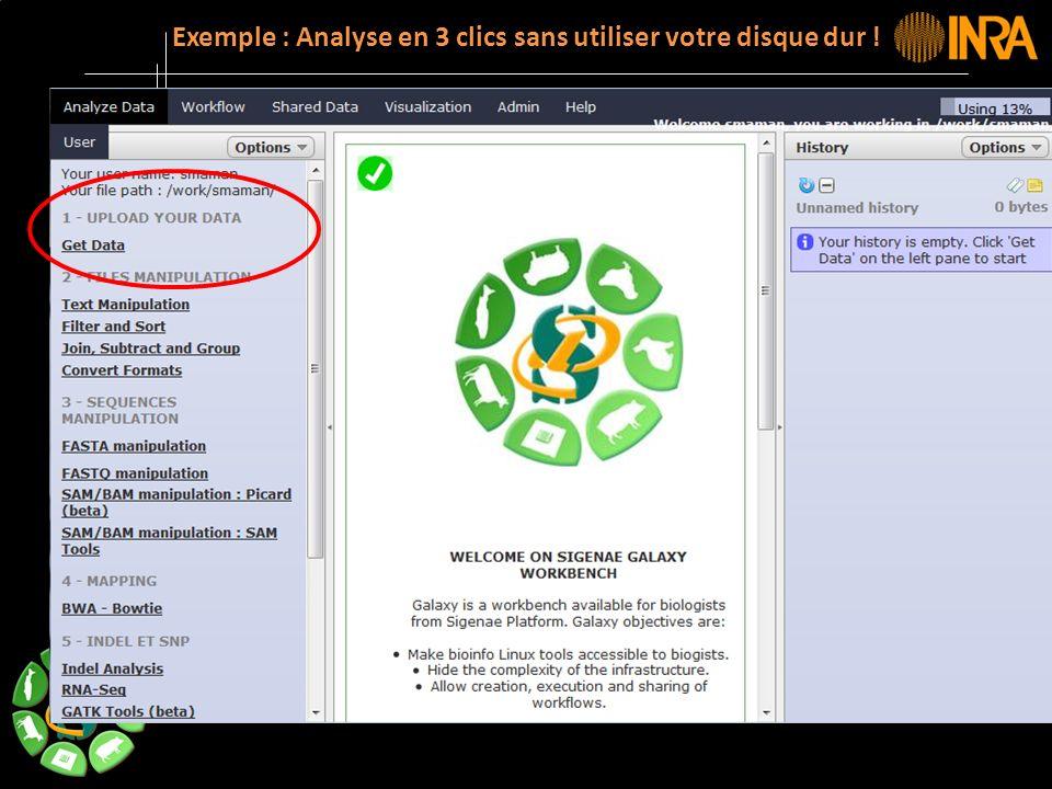 -- 11 -- Exemple : Analyse en 3 clics sans utiliser votre disque dur !