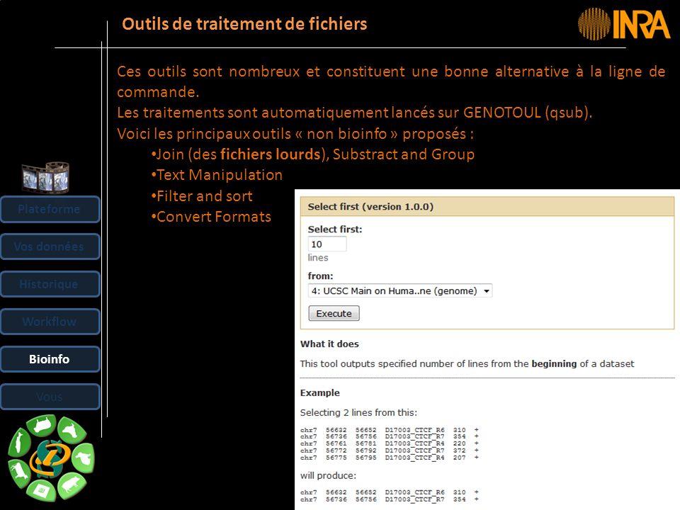 -- 37 -- Outils de traitement de fichiers Ces outils sont nombreux et constituent une bonne alternative à la ligne de commande. Les traitements sont a