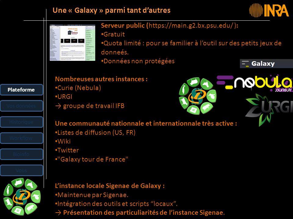 -- 5 -- Nombreuses autres instances : Curie (Nebula) URGI groupe de travail IFB Une communauté nationnale et internationnale très active : Listes de d