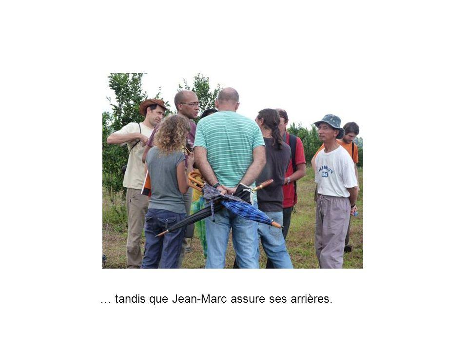 … tandis que Jean-Marc assure ses arrières.