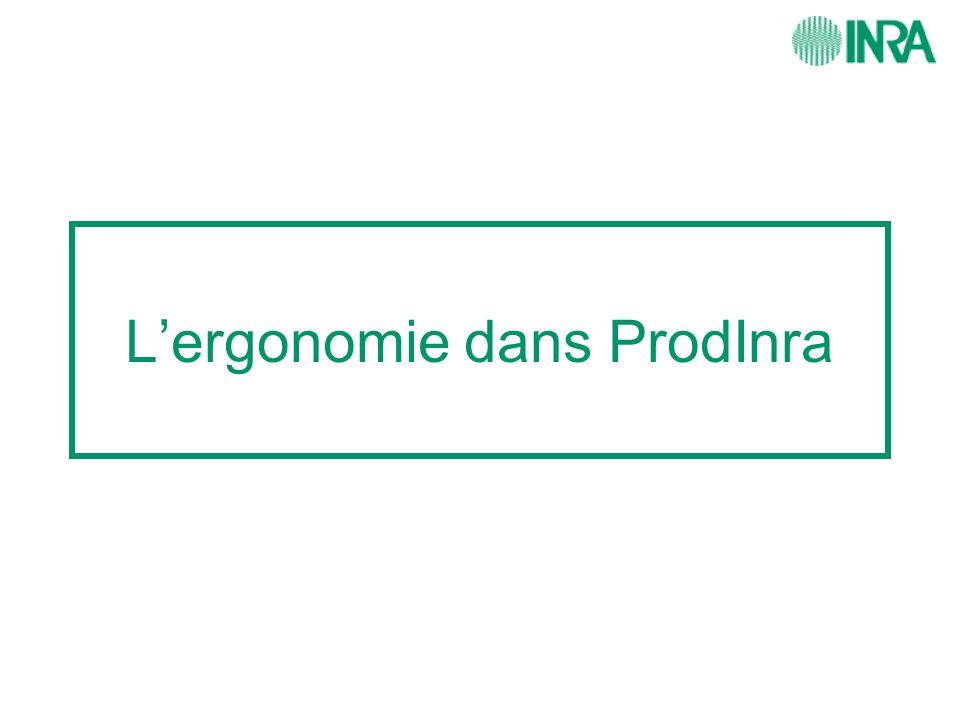 Lergonomie dans ProdInra