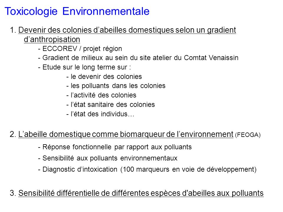 Biologie et protection de labeille 1.