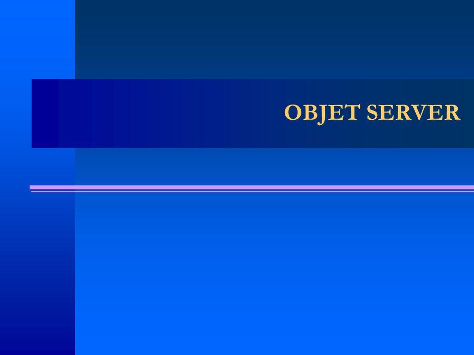 OBJET SERVER