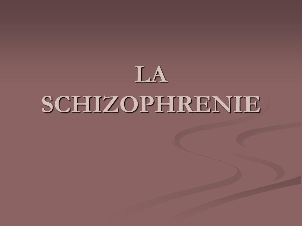 La schizophrénie pananoide La schizophrénie pananoide - Forme la plus fréquente - Délire important, flou, incohérent - Alternance dépisodes aigues et de rémission