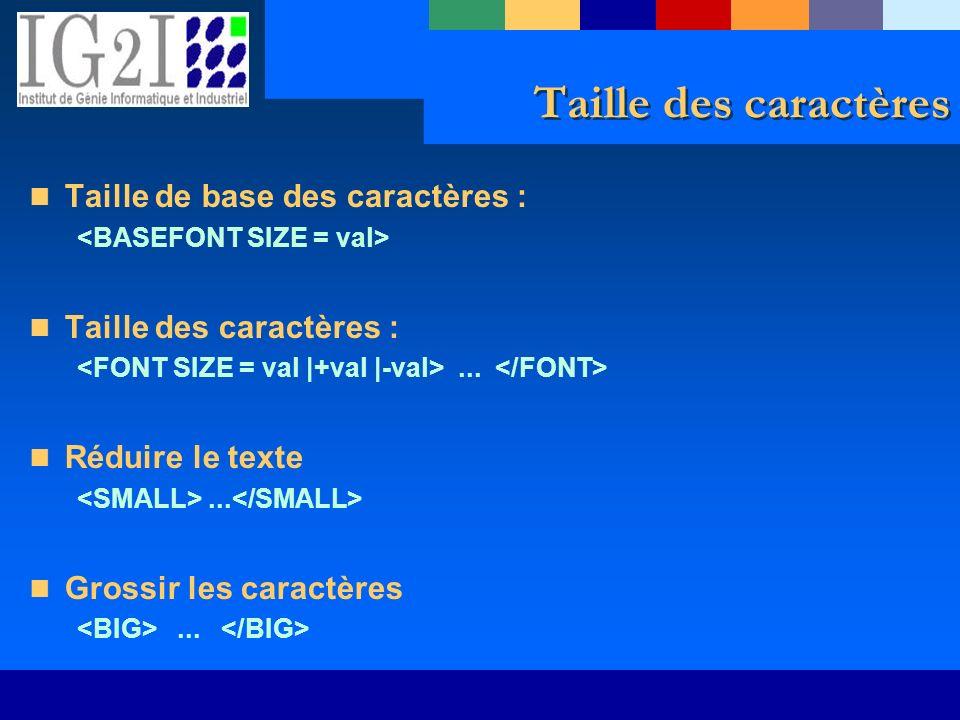 Taille des caractères Taille de base des caractères : Taille des caractères :... Réduire le texte... Grossir les caractères...