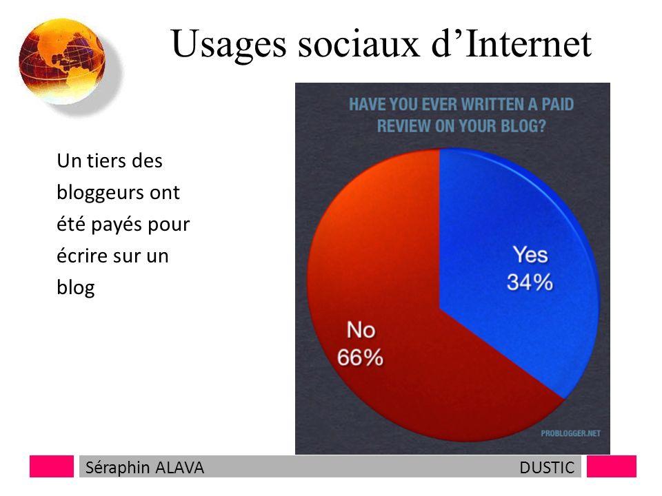 Usages sociaux de lInternet Séraphin ALAVADUSTIC