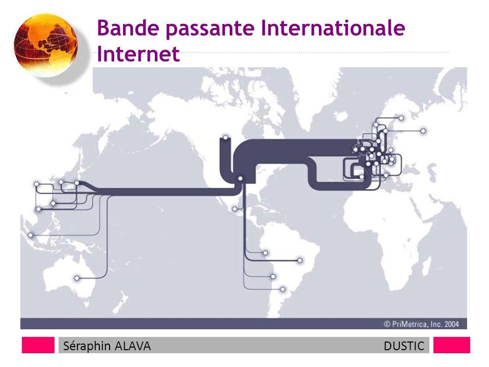 6 Bande passante Internationale Internet Séraphin ALAVADUSTIC