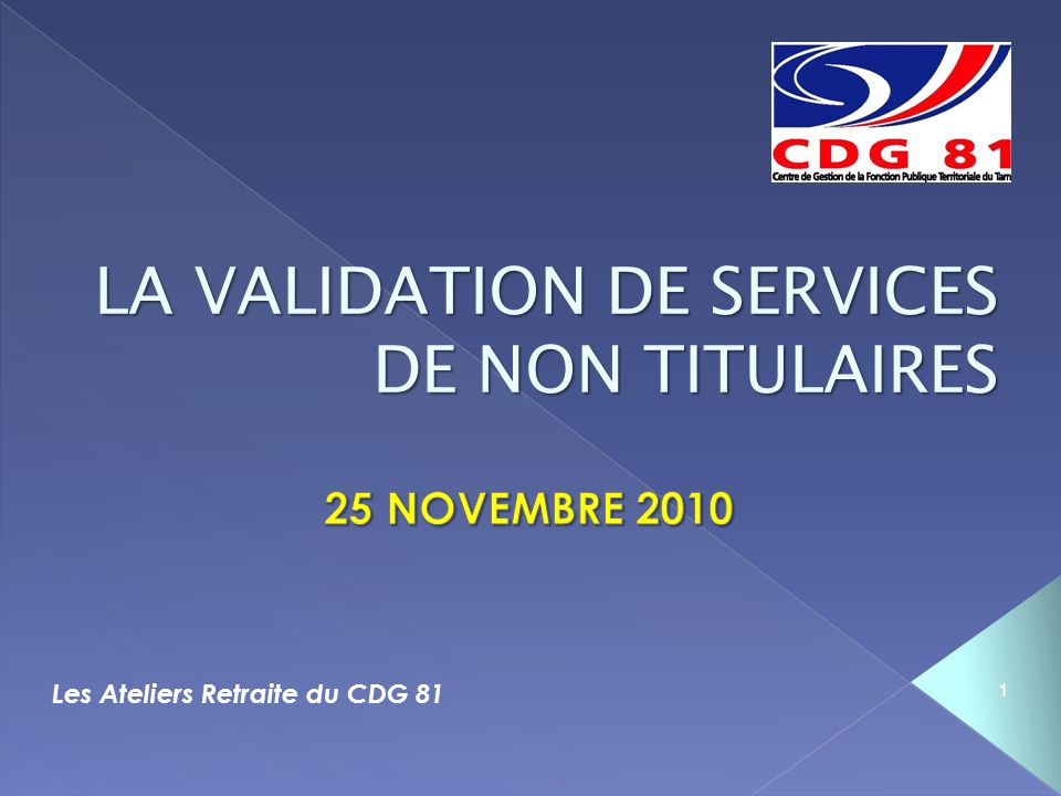 Les Ateliers Retraite du CDG 81 1