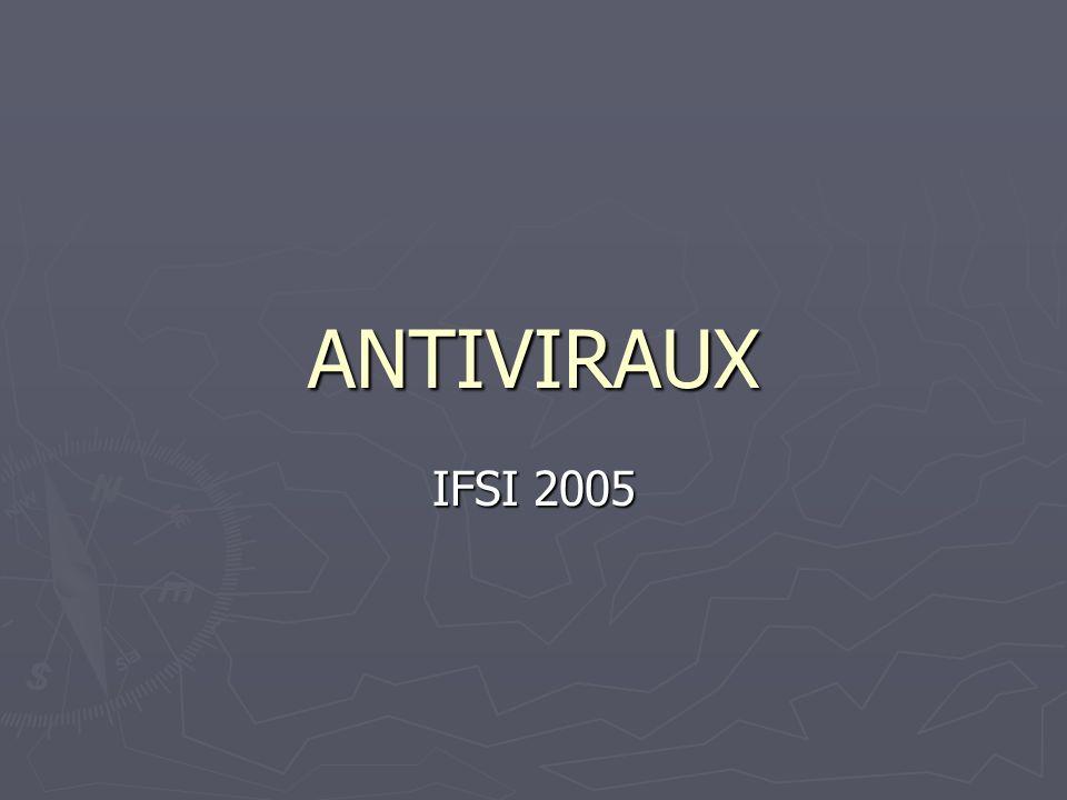 ANTIVIRAUX IFSI 2005