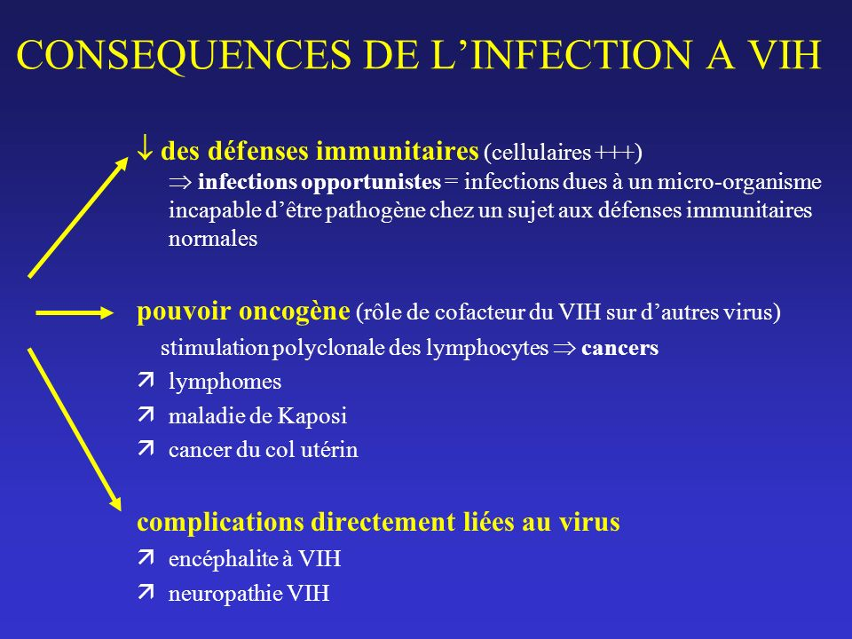 Les infections opportunistes SYSTEME NERVEUX CENTRAL.
