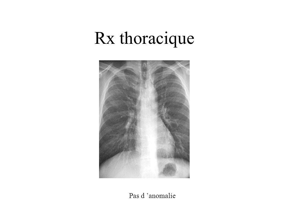 Exploration fonctionnelle respiratoire Normale Test suivant?
