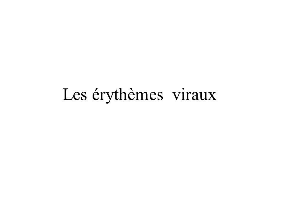 Les érythèmes viraux