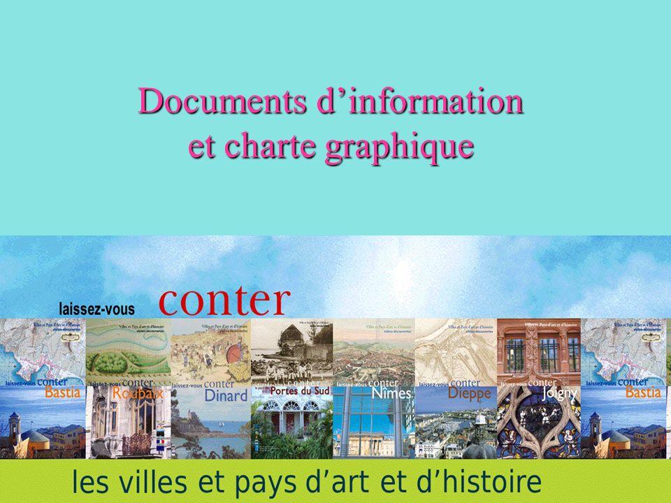Documents dinformation et charte graphique