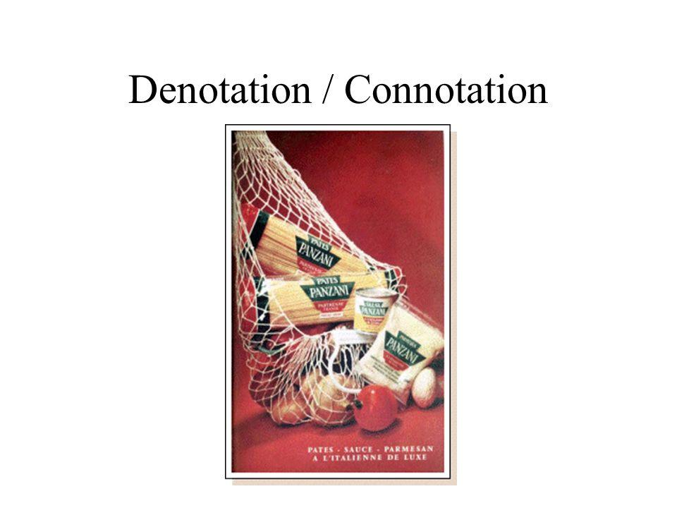 Denotation / Connotation