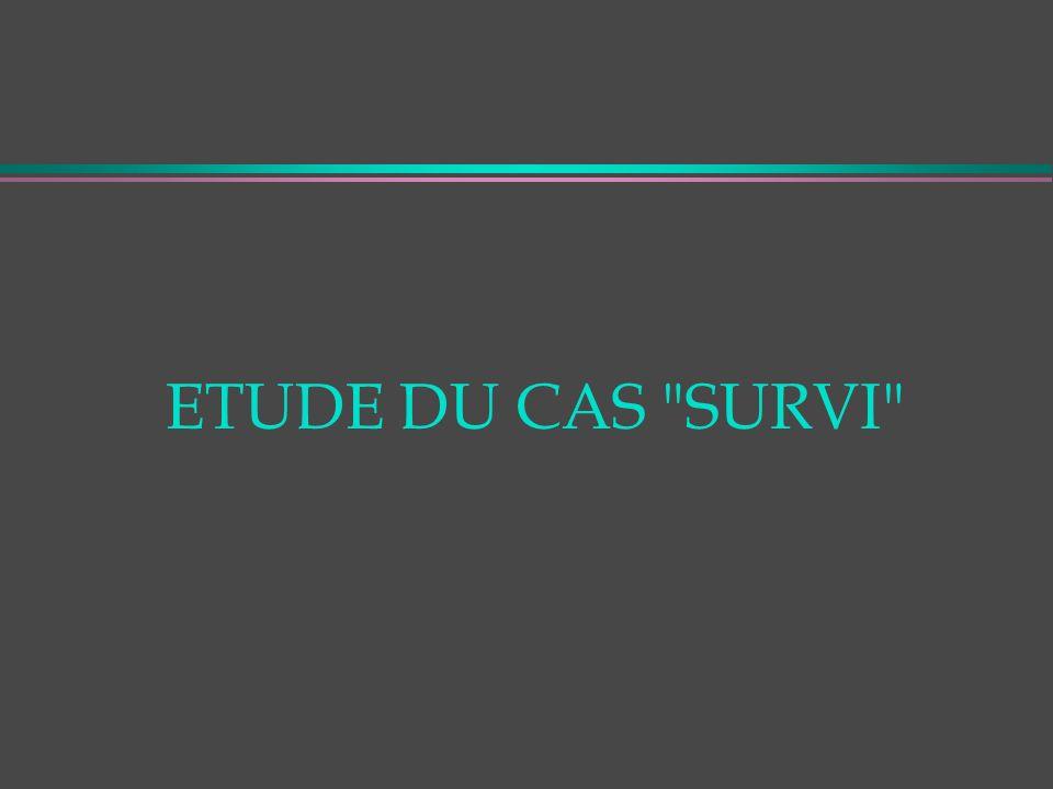ETUDE DU CAS SURVI