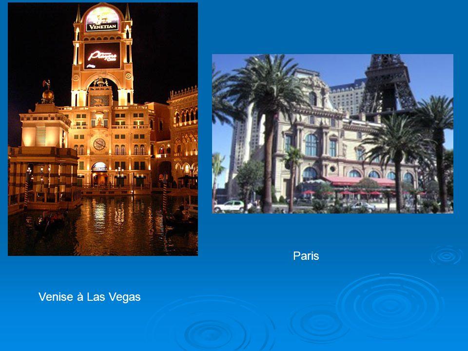 Venise à Las Vegas Paris