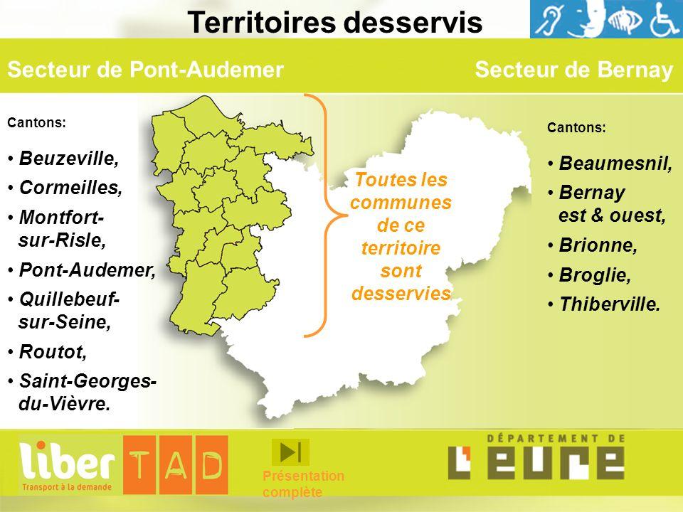 Secteur de Bernay Territoires desservis Cantons: Beaumesnil, Bernay est & ouest, Brionne, Broglie, Thiberville. Cantons: Beuzeville, Cormeilles, Montf