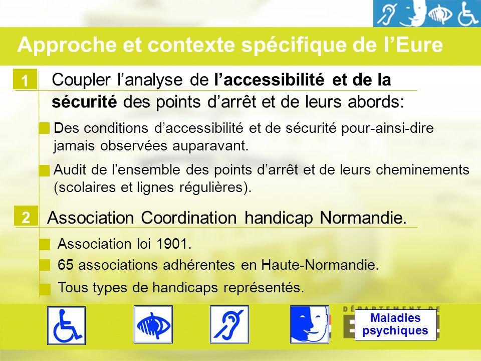 1 Coupler lanalyse de laccessibilité et de la sécurité des points darrêt et de leurs abords: Des conditions daccessibilité et de sécurité pour-ainsi-dire jamais observées auparavant.