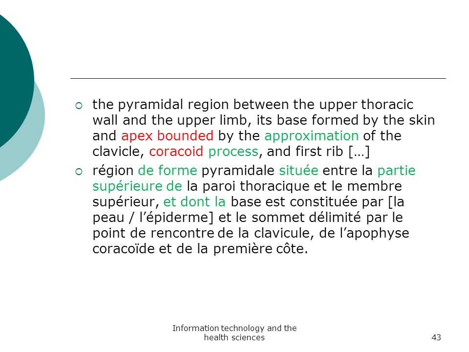 the pyramidal region between the upper thoracic wall and the upper limb, its base formed by the skin and apex bounded by the approximation of the clav