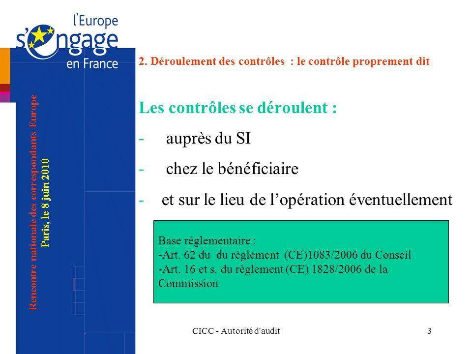 CICC - Autorité d audit3 2.