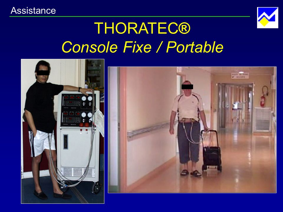 THORATEC® Console Fixe / Portable Assistance