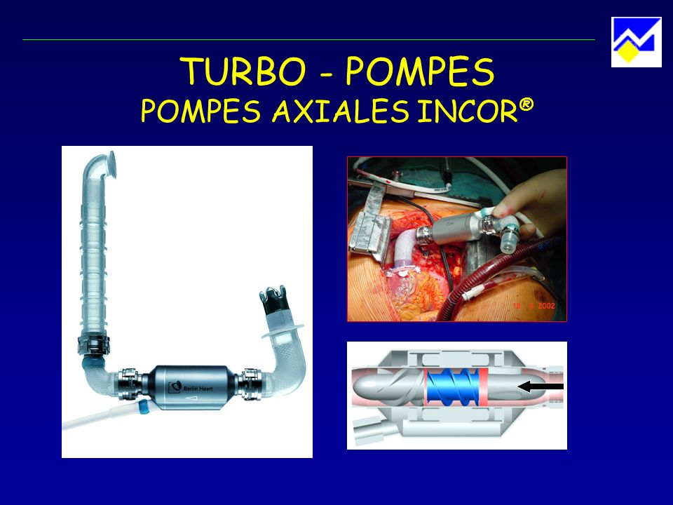 TURBO - POMPES POMPES AXIALES INCOR ®