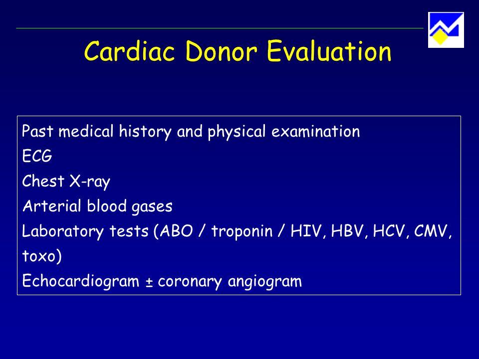 Donor Heart Implantation Standard