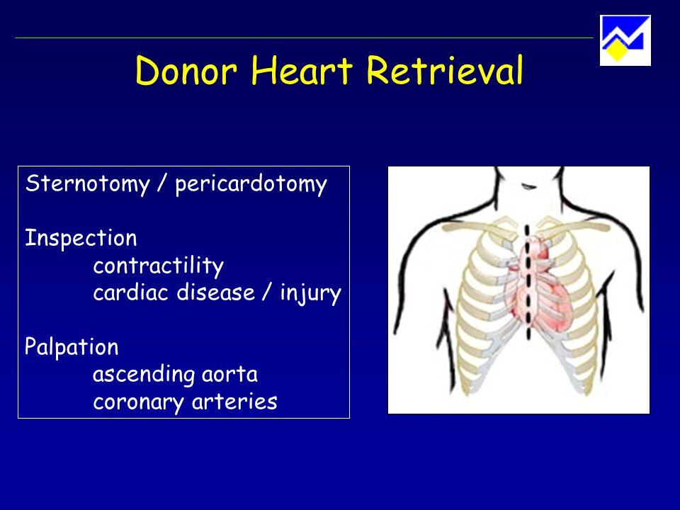Donor Heart Retrieval