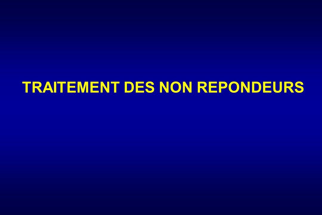 TRAITEMENT DES NON REPONDEURS
