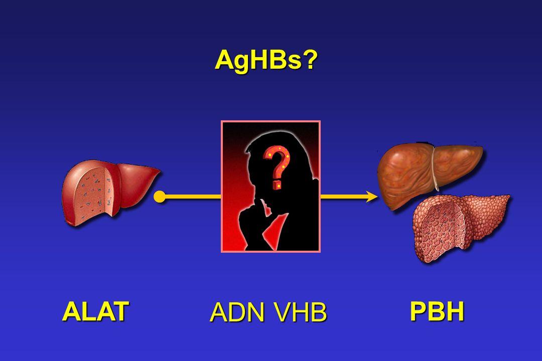 ALAT ADN VHB PBH AgHBs?