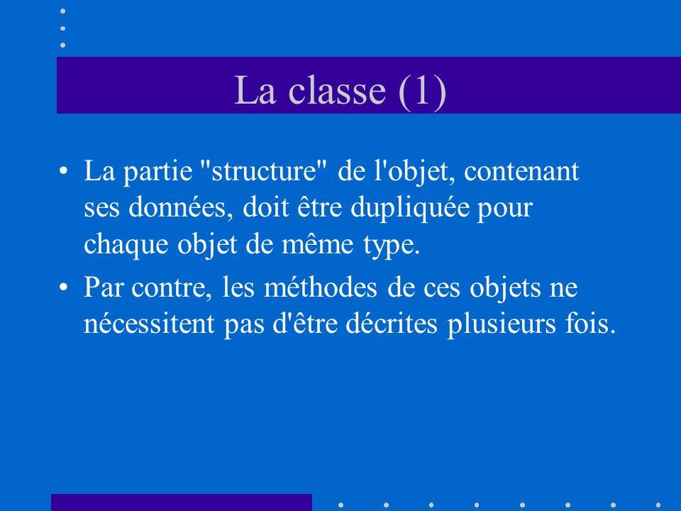 La classe (1) La partie