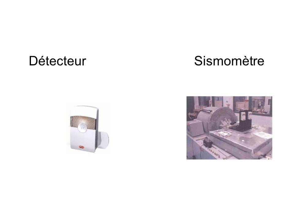 DétecteurSismomètre
