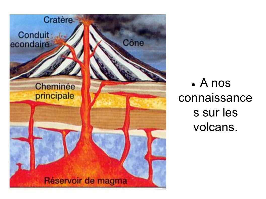 Une surveillance capable de détecter tout signe annonçant une éruption comme le sismographe.