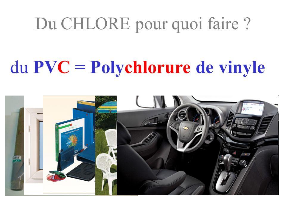 Le PVC dans lautomobile Depuis 40 ans le plastique n a pas cessé de croître dans l automobile.