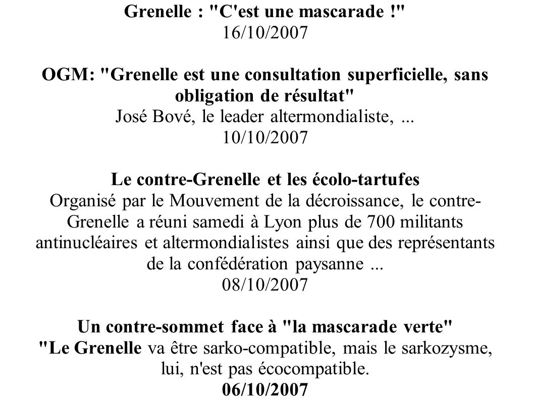 Grenelle :