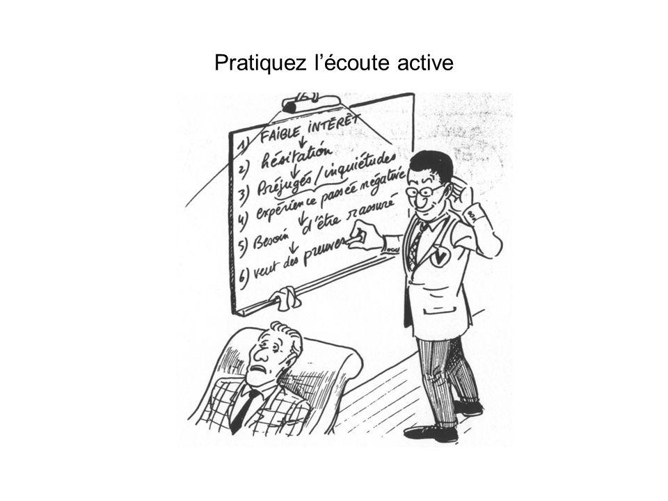 Pratiquez lécoute active