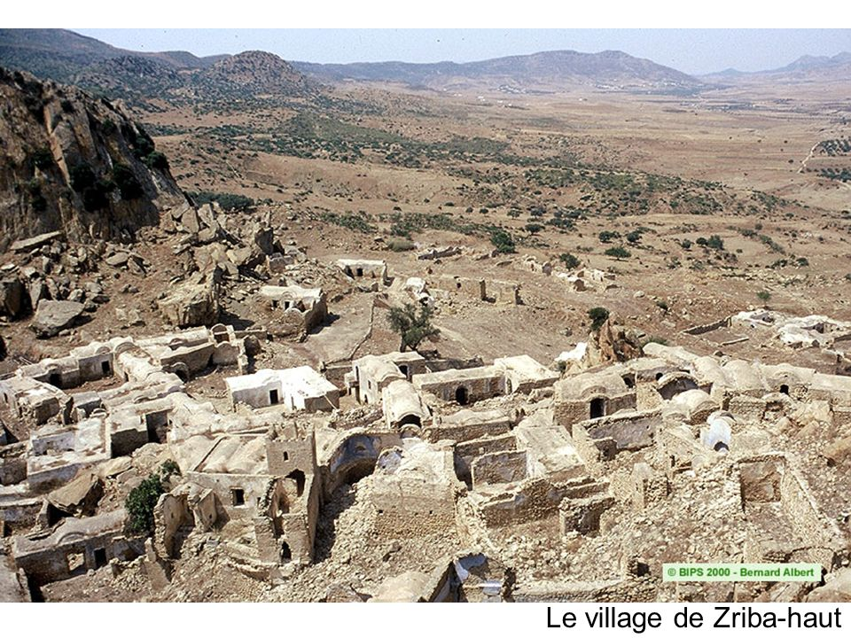 Le village de Zriba-haut