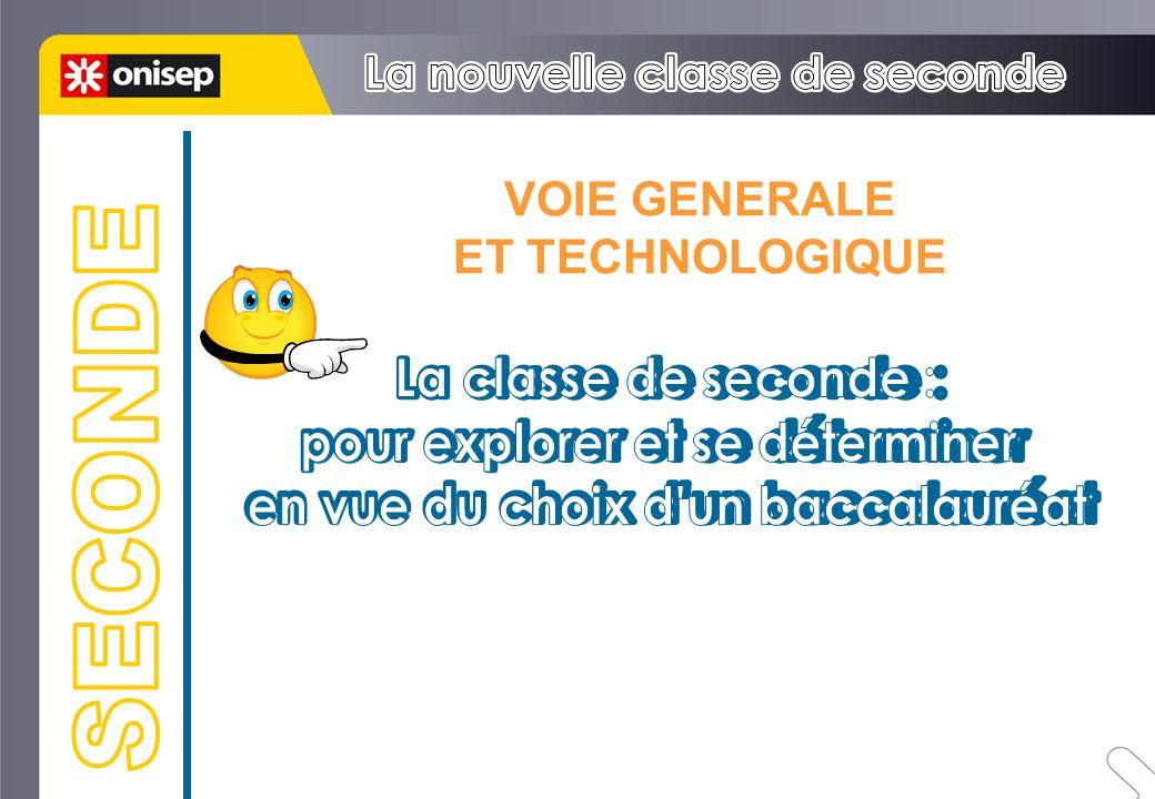 VOIE GENERALE ET TECHNOLOGIQUE
