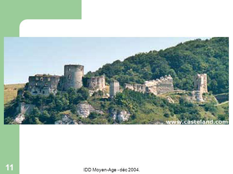 IDD Moyen-Age - déc 2004. 11