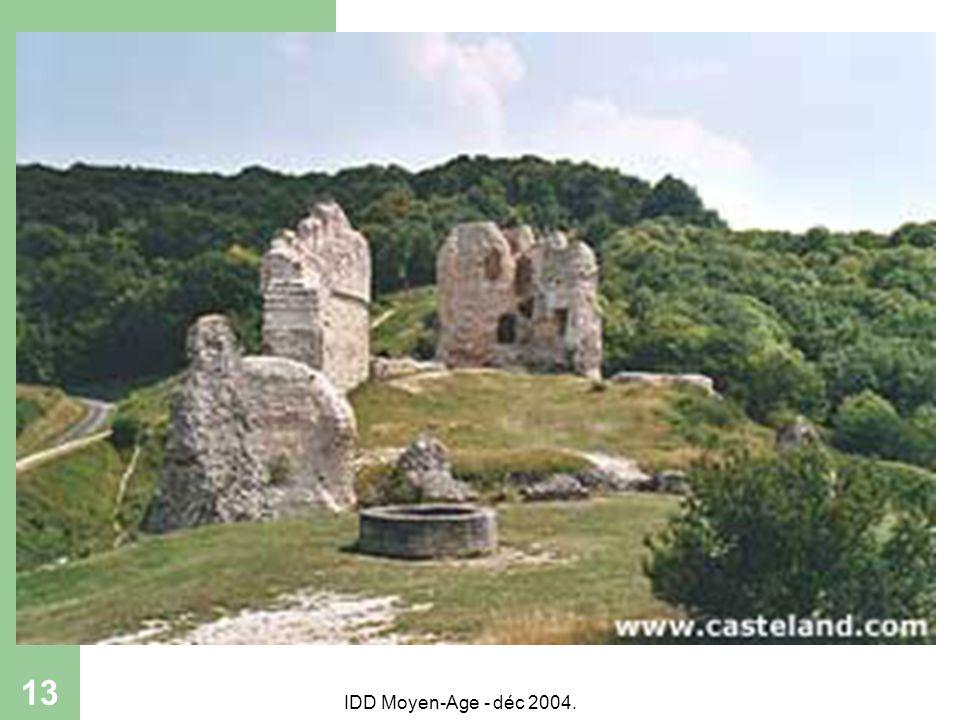 IDD Moyen-Age - déc 2004. 13