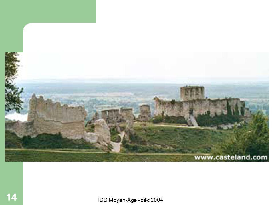 IDD Moyen-Age - déc 2004. 14