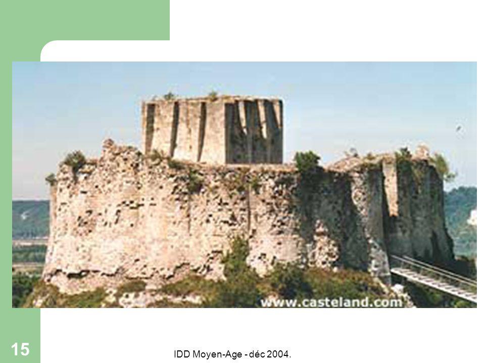 IDD Moyen-Age - déc 2004. 15