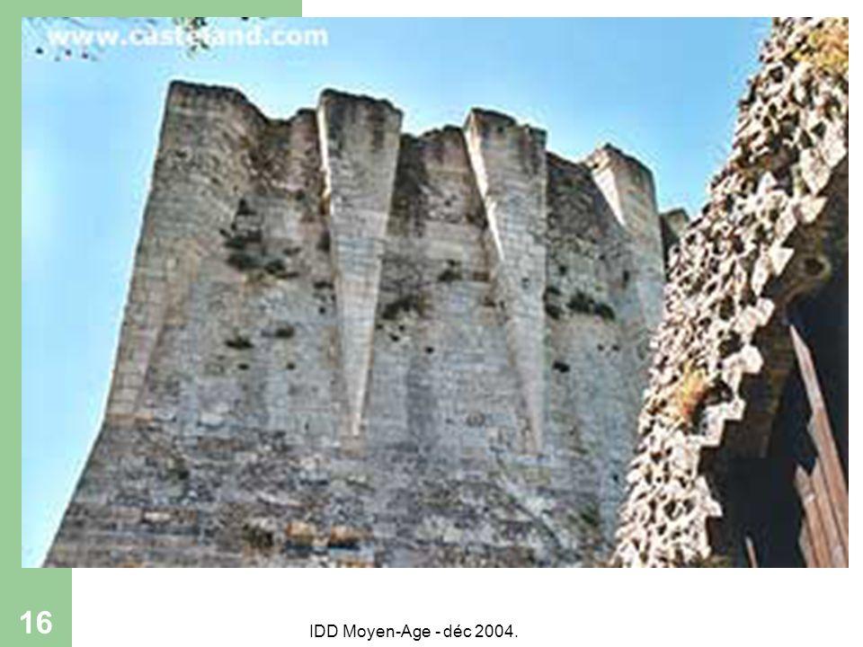 IDD Moyen-Age - déc 2004. 16