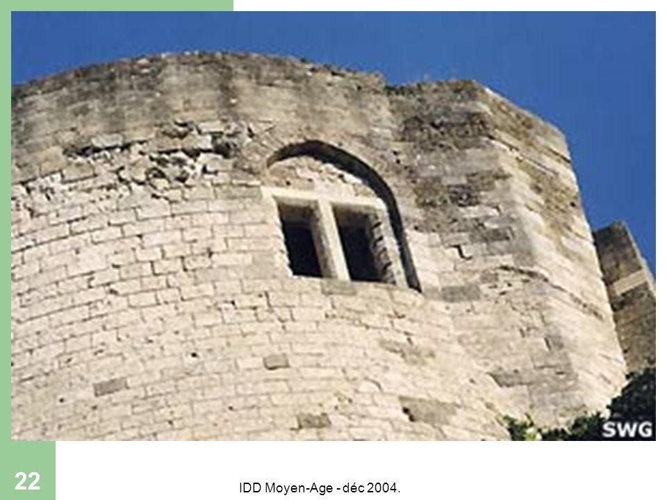IDD Moyen-Age - déc 2004. 22
