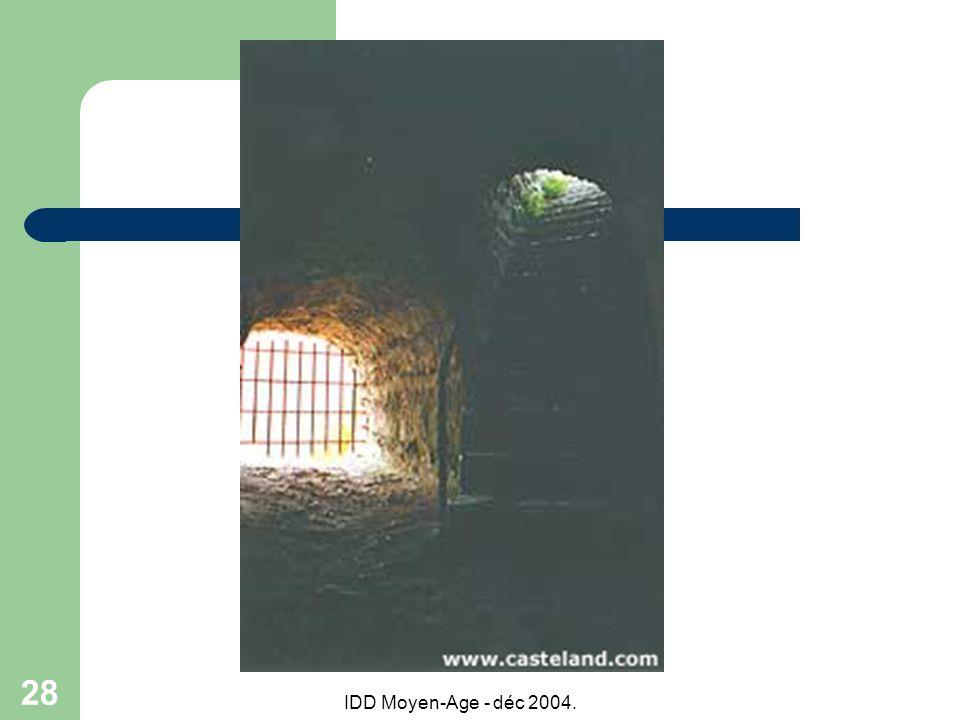 IDD Moyen-Age - déc 2004. 28