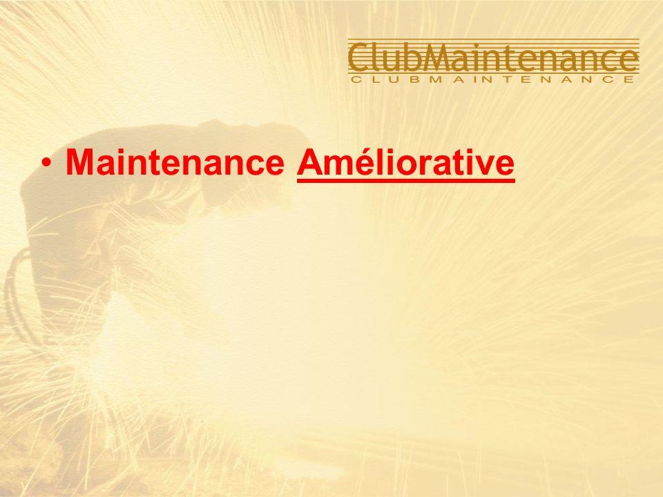 Maintenance Améliorative