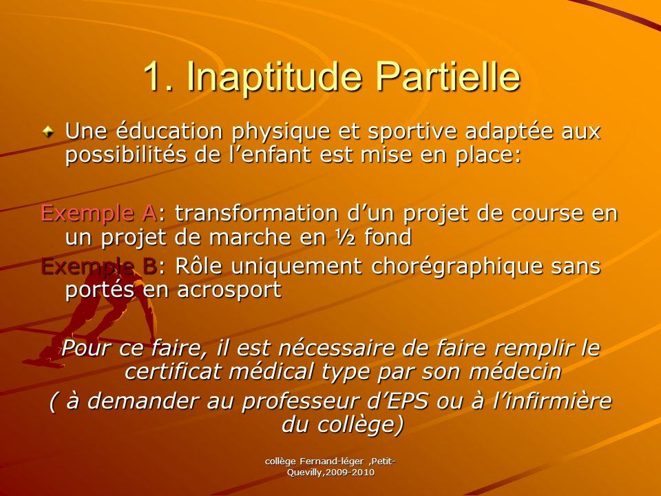 collège Fernand-léger,Petit- Quevilly,2009-2010 Bon courage !!! Les Professeurs EPS du collège